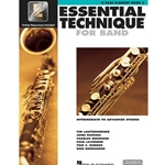 Essential Technique for Band Book 3 w/ EEi - Intermediate to Advanced - Bass Clrnt