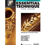 Essential Technique for Band Book 3 w/ EEi - Intermediate to Advanced - Alto Sax