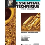 Essential Technique for Band Book 3 w/ EEi - Intermediate to Advanced - Bari Sax
