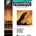 Essential Technique for Band Book 3 w/ EEi - Intermediate to Advanced - Elec Bass