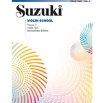 Suzuki Violin School Violin Part, Volume 3: Revised -