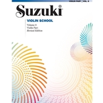 Suzuki Violin School Violin Part, Volume 8: Revised -