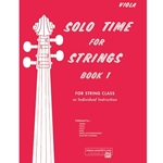 Solo Time for Strings, Book 1 [Viola] - Viola