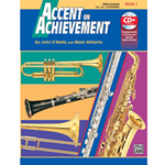 Accent on Achievement, Book 1 - Snare Drum/Bass Drum Percussion - Band Method