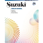 Suzuki Violin School Violin Part,/CD Volume 2: Revised -