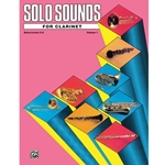 Solo Sounds for Clarinet, Levels 3-5 [Clarinet] - Clarinet