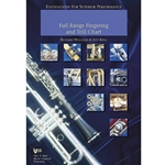 Foundations For Superior Performance Full Range Fingering Chart - Trumpet -