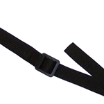 Conn-Selmer 564 Neck Strap, Alto / Tenor Sax, Black Nylon, vinyl coated hook