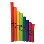 Rhythm Band 100 Diatonic 8 Note Boomwhackers Upper Octave