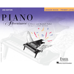 Piano Adventures Lesson Book - Primer Level - 2nd Edition
