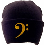 AIM Gifts AIM9302 Bass clef hat (black)