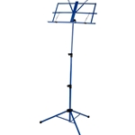 Strukture SMS1XBL Deluxe Folding Music Stand, Blue