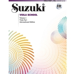 Suzuki Viola School Viola Part/CD, Volume 1: Revised - Viola