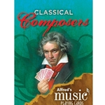 ALF38799 Alfreds Music Playing Cards: Classical Composers