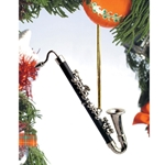 Music Treasures 463147 Bass Clarinet Ornament