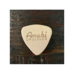 Amati Inst AMAHIPICK Amahi Leather Ukulele Pick