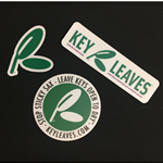 KLSS Key Leaves Sax Sticker