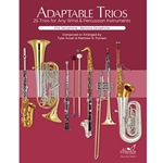 Adaptable Trios for Alto Saxophone & Baritone Saxophone -