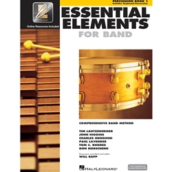 Essential Elements for Band Book 1 w/ EEi - Percussion