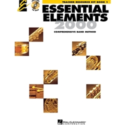 Essential Elements for Band Book 1 w/ EEi - Teacher Kt