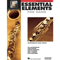 Essential Elements for Band Bk 2 - bass clarinet - Bass Clrnt