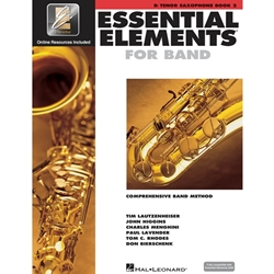 Essential Elements for Band Bk 2 - tenor sax -