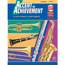 Accent on Achievement, Book 1 - Trombone -