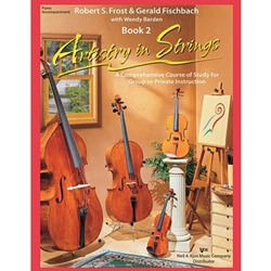 Artistry In Strings, Book 1 - Piano Accompaniment -