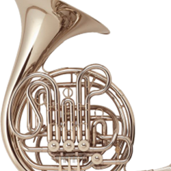 "Holton  Silver Double French Horn, ""Farkas"" Model H179"
