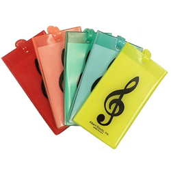 AIM Gifts 31500 Treble Clef rubber ID tag