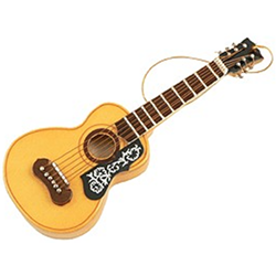 AIM Gifts 39107 Spanish Guitar w/ Floral Pick Ornament