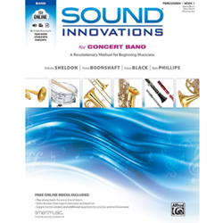 Sound Innovations for Concert Band, Book 1 Percussion - Band Method